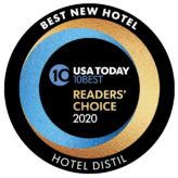 Hotel Distil USA Today's 10Best Hotel